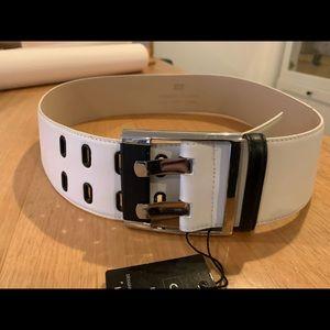 Cue leather belt